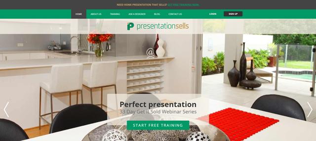 Presentation Sells Screenshot